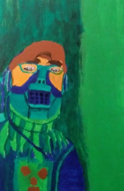 Drake Longeuay, Self Portrait