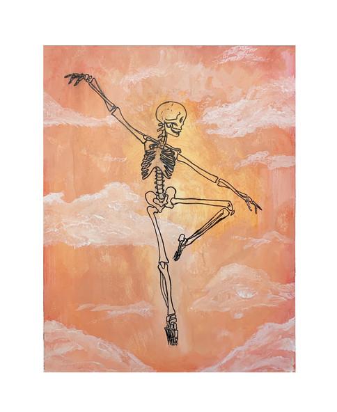 Kendra Frank, Skeleton