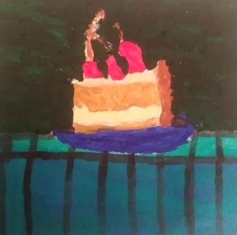 Drake Longeuay, Cake on a Countertop