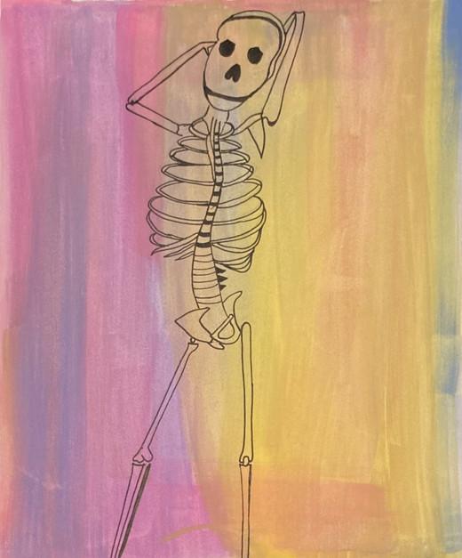 Dhruvanshi Bhatt, Skeleton