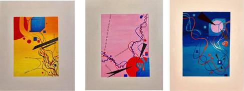 Mary-Ann Oros, Abstract Series
