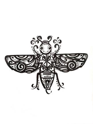 Mary-Ann Oros, Bug Illustration