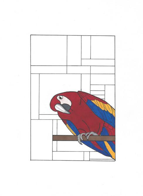 Lara Wagler, DeStijl notebook cover