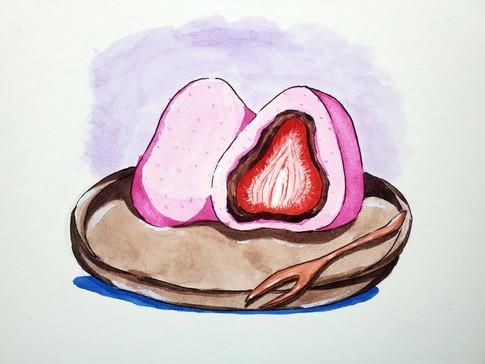 Maddie Berry, Food Illustration Series 2