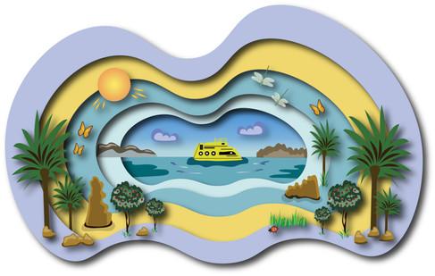 Olya Datsenko, Illustration of Summer