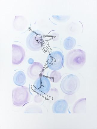 Eric Melehes, Skeleton