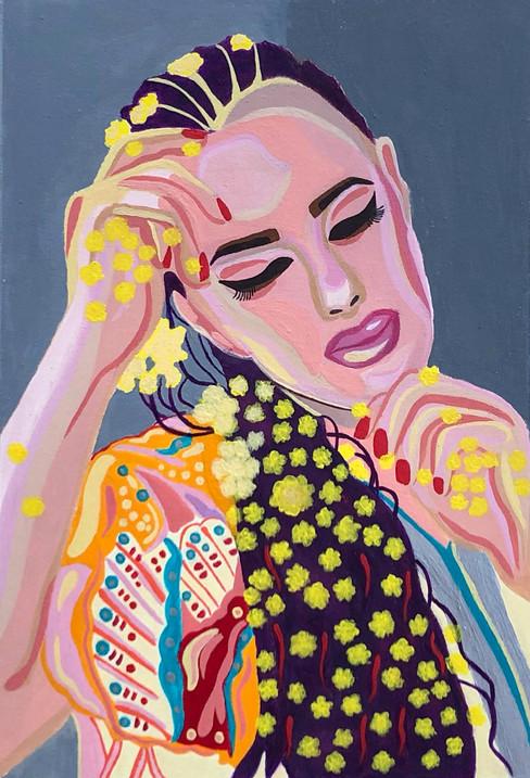 Olya Datsenko, Colour Portrait