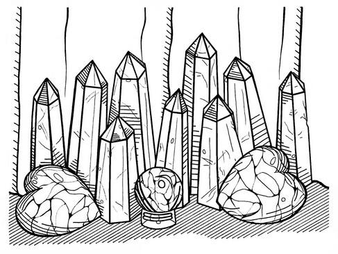 Miranda Barter, Crystal Lines