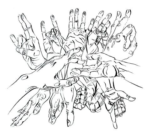 Sam Vernon, Hands
