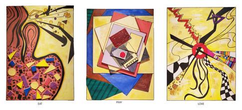 Vahide Akin Gurlu, Abstract Series