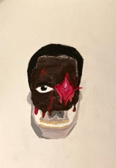 Biniyam Bekele, Self-Portrait