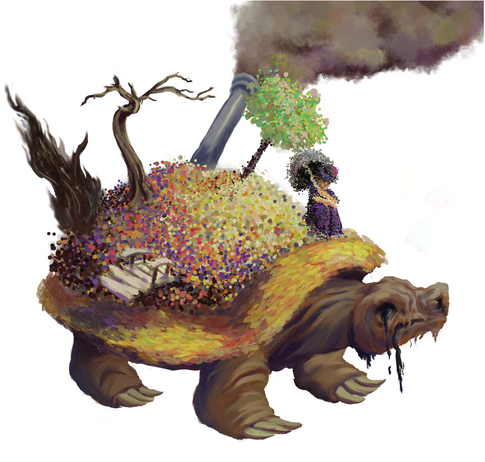 Kat Tomlinson, Melting Turtle