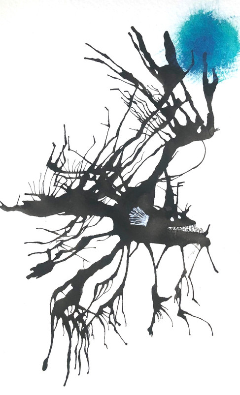 Lara Wagler, Ink Blot Angler Fish