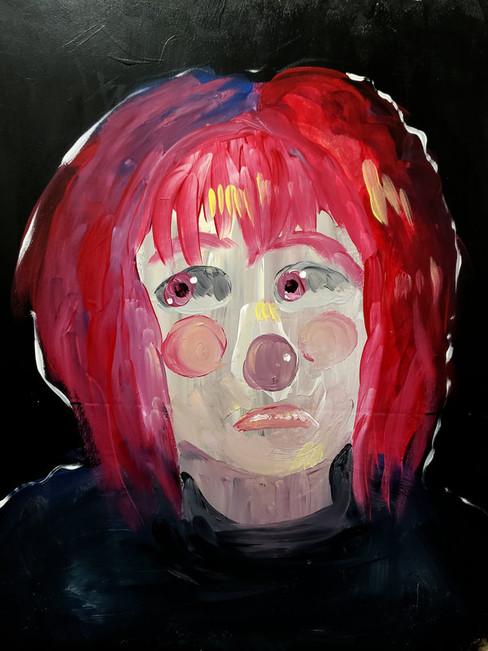 Mars Linington, Self-portrait