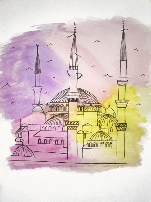 Bissan Elnader, Sultan Ahmed Mosque