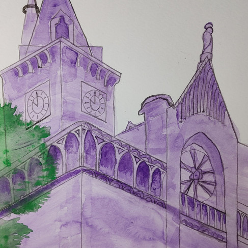 Pedro Aguirre, Perspective drawing