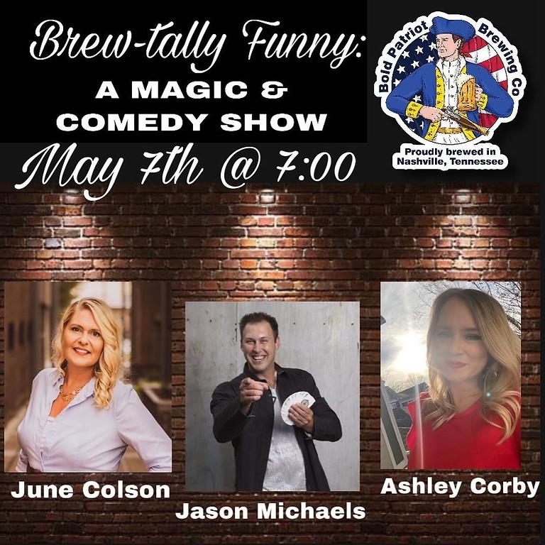 Brew-Tally Funny Comedy @ Bold Patriot Brewing Company