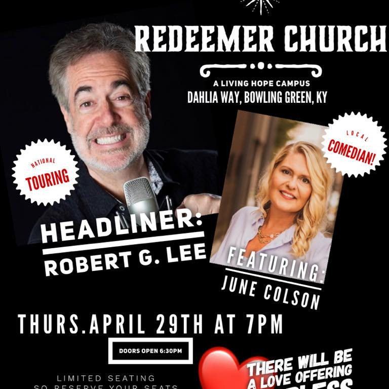 A Night of Comedy at Redeemer Church