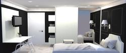 Dormitório da jovem