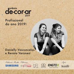 Premiação Revista Decorar 2019