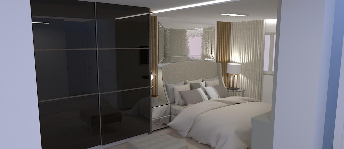Dormitório Casal - 1°Opção