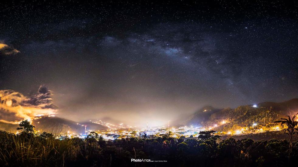 Vía Láctea / Se ve así como en las fotos?