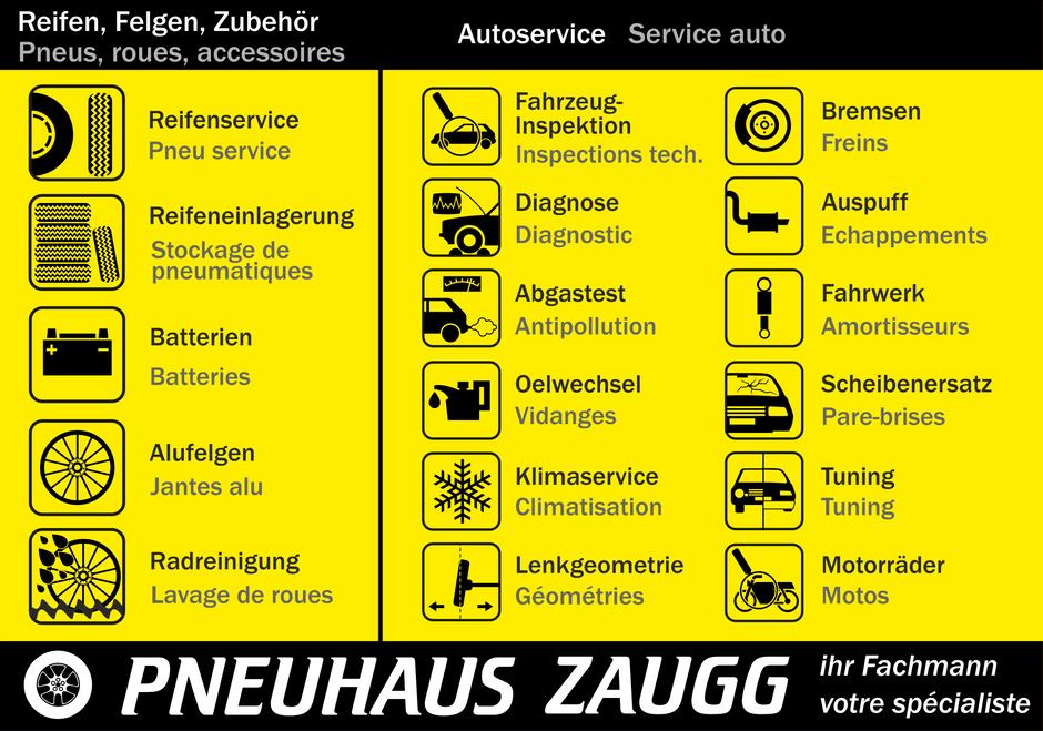 Jetzt ist Zeit für Ihren Fahrzeugservice! C'est le moment de faire réviser votre véhicule!