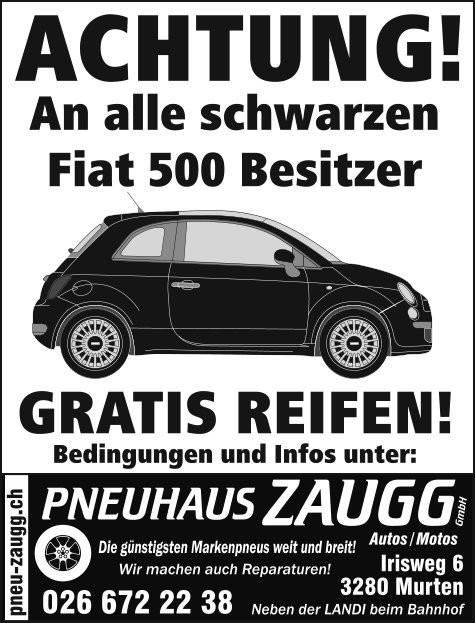 An alle schwarzen Fiat 500 Besitzer