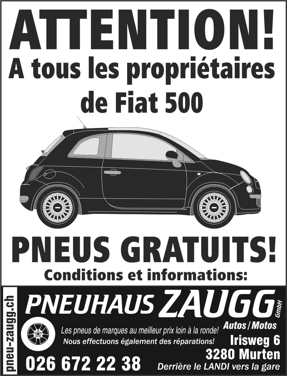 A tous les propriétaires de Fiat 500