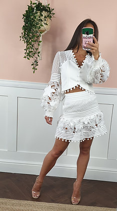 *Sample* Lace Two Piece