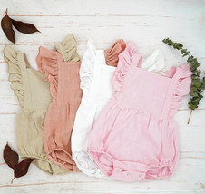 'SUNDAY' Rompers