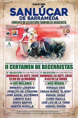 II certamen de becerristas en Sanlúcar de Barrameda