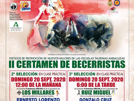 La A.A.E.T. 'Pedro Romero' pone en marcha el II Certamen de Becerristas