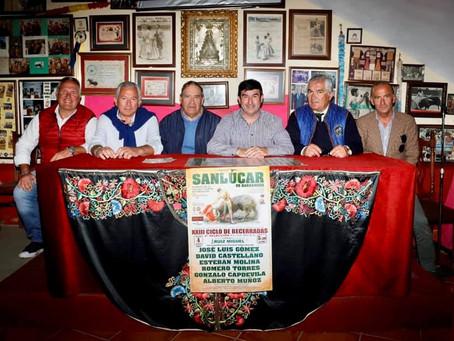 XXIII Ciclo de becerradas en clases prácticas 4 de Mayo en SANLÚCAR