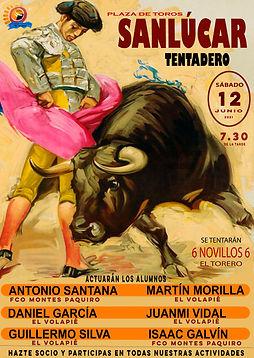 CARTEL TENTADERO  12 JUNIO 2021 EL VOLAPIE