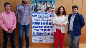 Presentado el cartel del Festival Taurino con picadores de la Feria de San José del  Valle 2019