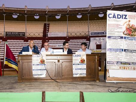Presentada la competición provincial de las escuelas taurinas de Cádiz en sanlúcar de bda.