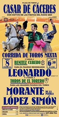 TOROS EN CASAR DE CACERES - 8 SEPTIEMBRE 2021