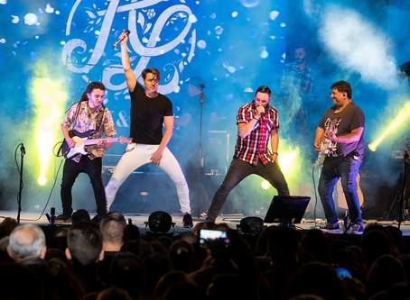 Gran concierto de Andy y Lucas en San José del Valle