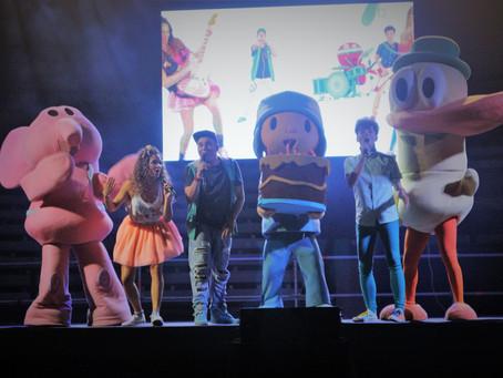 ¡¡El cumple de Pocoyo y los chicos de ConectaKids en Sanlúcar !!
