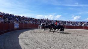 Andy Cartagena y Guillermo Hermoso de Mendoza, Puerta Grande en Talayuela