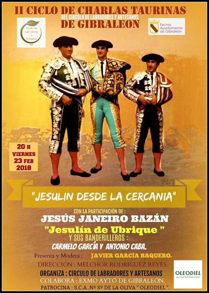 Junto a Jesulin de Ubrique y Antonio Caba