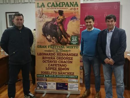 Presentación Festival Taurino en La Campana