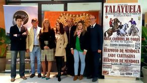 Un cartel para la historia en Talayuela por San Marcos 2019