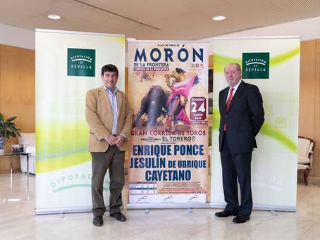 Morón en la Diputación de Sevilla