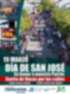 cartel suelta de vacas SAN JOSE DEL VALLE 2020