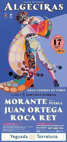 CORRIDA DE TOROS EN ALGECIRAS - 17 JULIO 2021