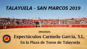 Talayuela - San Marcos 2019