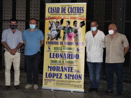 PRESENTACIÓN | Gran corrida de toros mixta en Casar de Cáceres