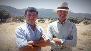 Carmelo García y Jesús Pérez, empresarios de Villacarrillo